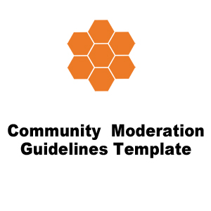 Moderation Guidelines Template