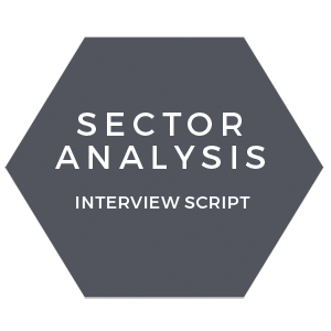 Sector analysis interview script