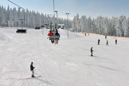 Alpiner Skispaß am Fallbachhang (Tourismus GmbH Oberhof)