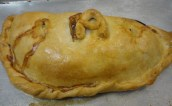 The pasty looks yummy!