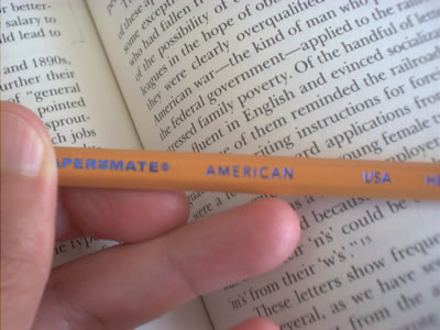 pencil&book