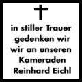 Verabschiedung unseres Kameraden Reinhard Eichl