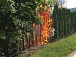 Brandeinsatz 6. August Krobathen