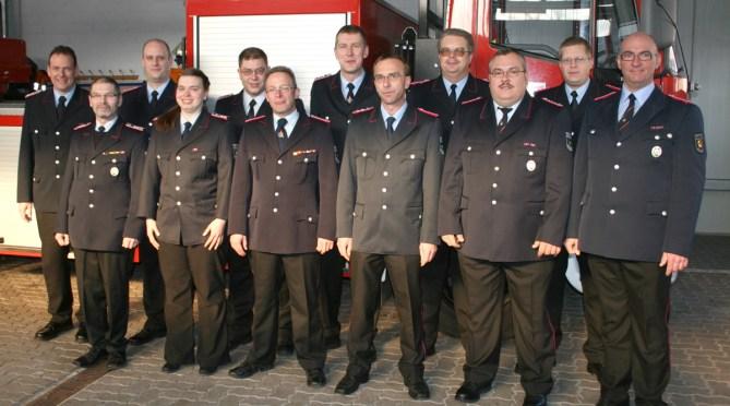 Das Ortskommando im Jahr 2012