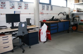 Gerätewart-Werkstatt