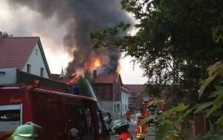 Dachstuhlbrand Rautenberg