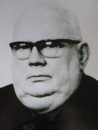 Heinrich Scheibe Ortsbrandmeister 1951 - 1958