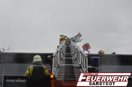 Drehleiter Rettung