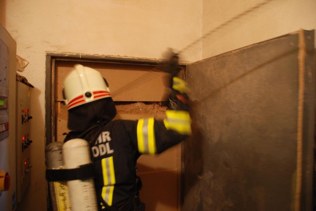 Einsatz: Brandverdacht