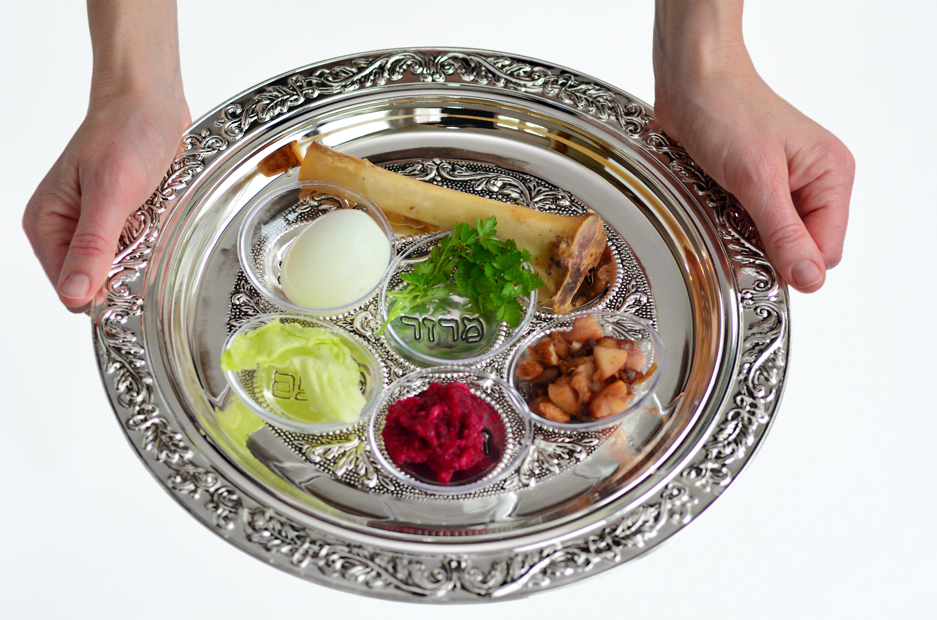 The Passover Seder Plate More Than Just A Judaic
