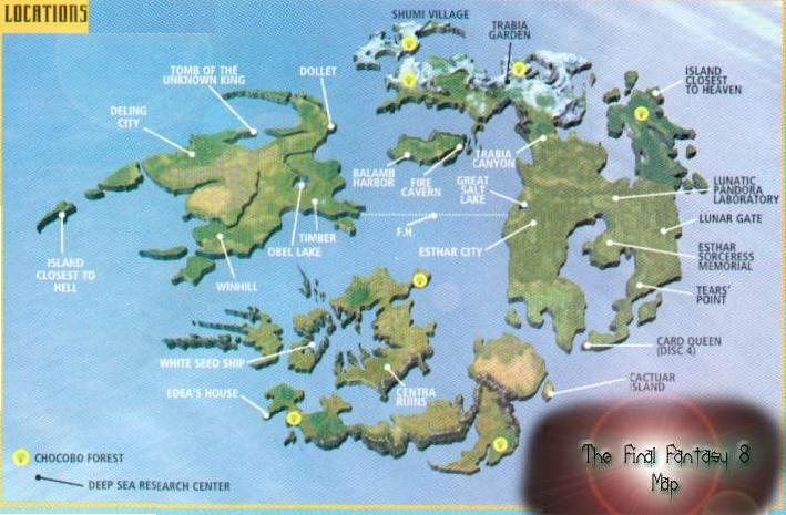 Mapa VIII