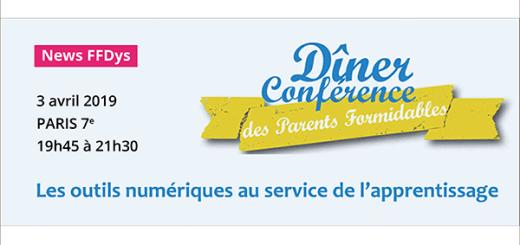 Conférence Les outils numériques au service de l'apprentissage - 3 avril - Paris