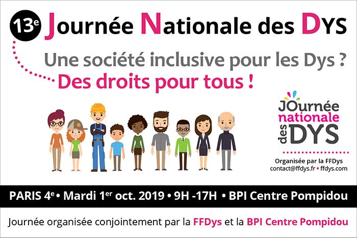 13e Journée Nationale des DYS : les inscriptions sont ouvertes!