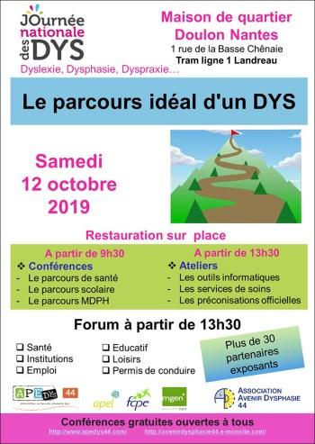 affiche JNDYS 2019 - Nantes