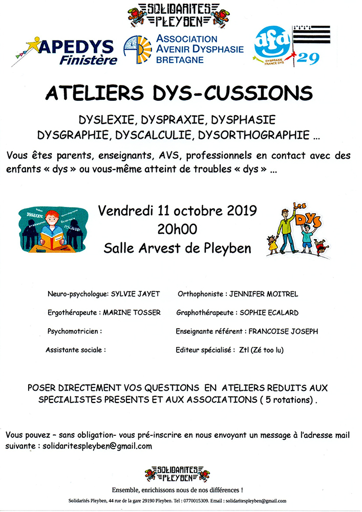 Journée des Dys en Bretagne