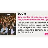 ZOOM sur la 13e Journée Nationale des Dys à Paris !