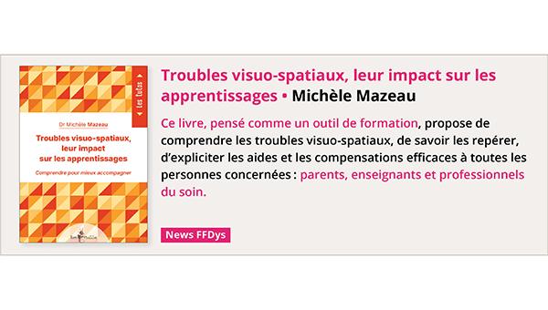 Troubles visuo-spatiaux, leur impact sur les apprentissages de Michèle Mazeau