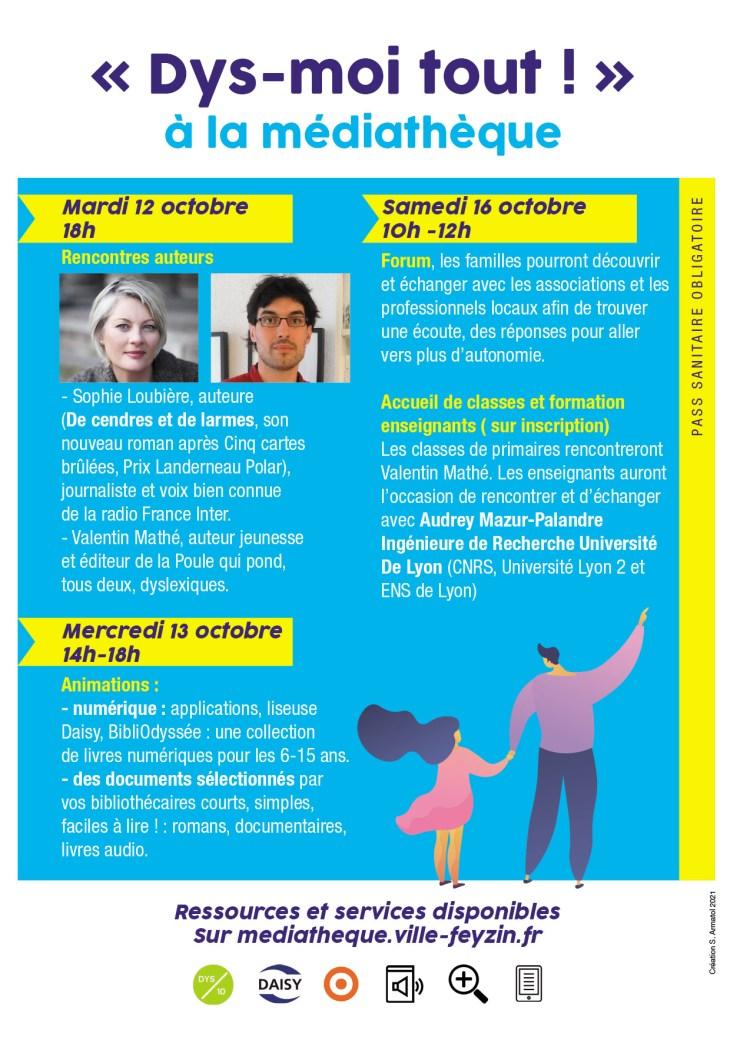 15e Journée des Dys - Médiathèque Feyzin