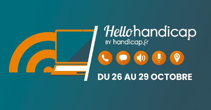 Recrutement en ligne : du 26 au 29 octobre la FFDys est partenaire de Hello handicap