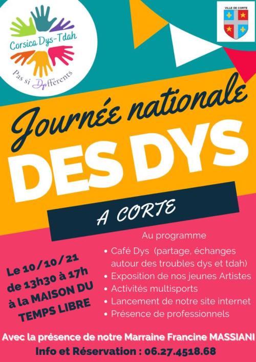 15e Journée des Dys - Corsica DYS-TDAH