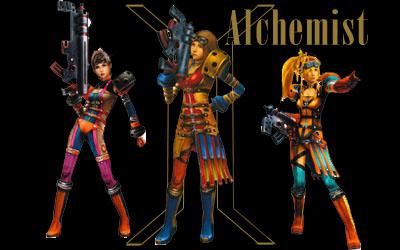 Final Fantasy X 2 Alchemist Dressphere