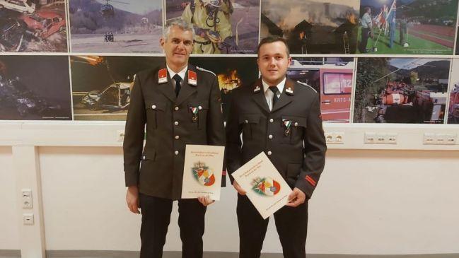 BM Günter Krause & LM d.F. Mark Krause – Auszeichnung: Verdienstkreuz in Bronze – BFVBM