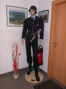 Feuerwehrmann mit Uniform