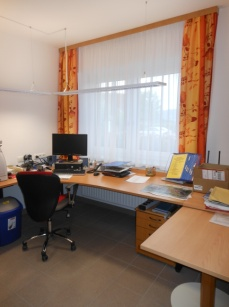 Büro im Feuerwehrhaus Kürnberg