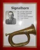 Signalhorn bis 1960 in Verwendung