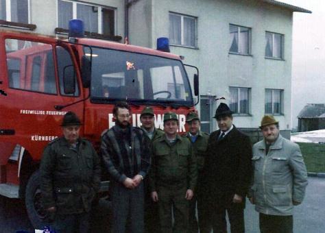 Feuerwehrauto Übergabe 1988