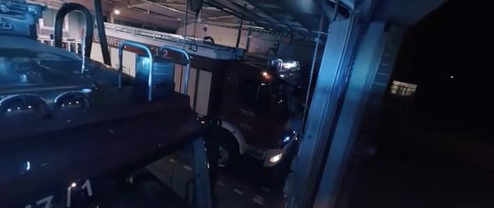 Video: Live dabei beim Feuerwehreinsatz