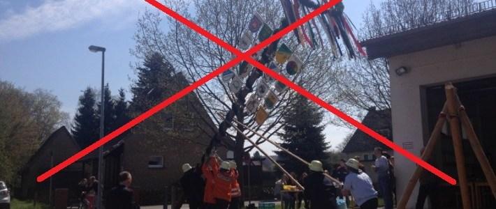 Corona-Virus: Maibaumfest abgesagt!