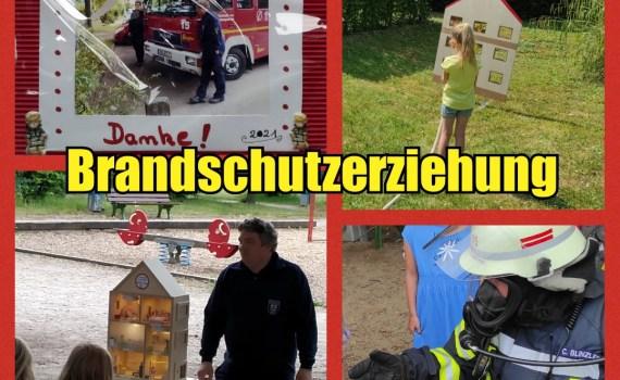 Brandschutzerziehung Collage