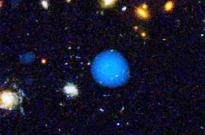 Photo of Black Hole by Hubble Telescope
