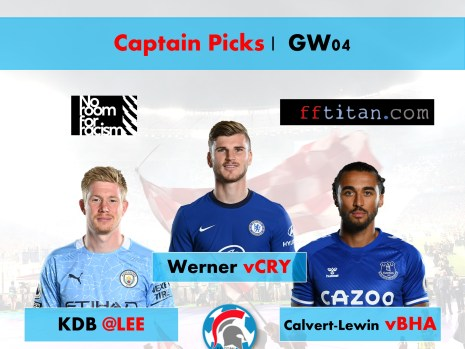 FPL Captain Picks GW04
