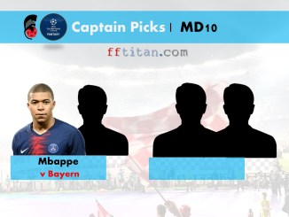 UCL Fantasy MD10 Captain