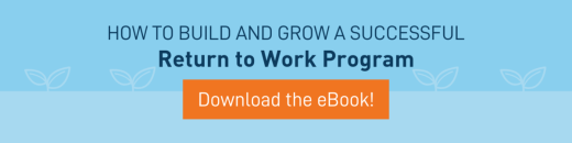 Return to Work eBook