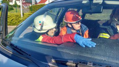 Rettung aus Fahrzeug