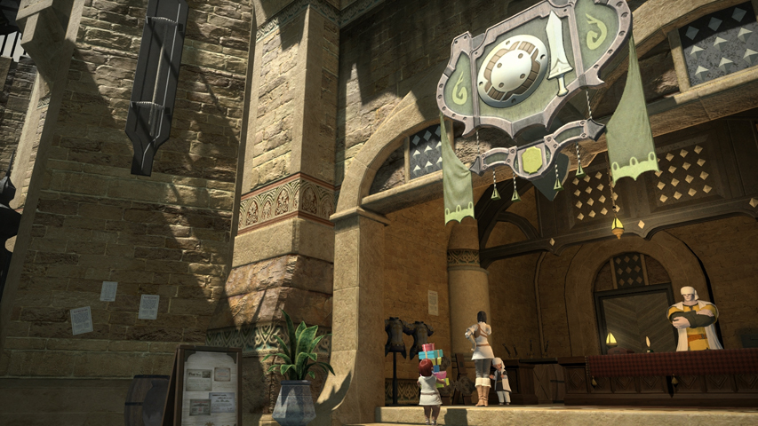 Uldah Maps FFXIV A Realm Reborn Info FF14