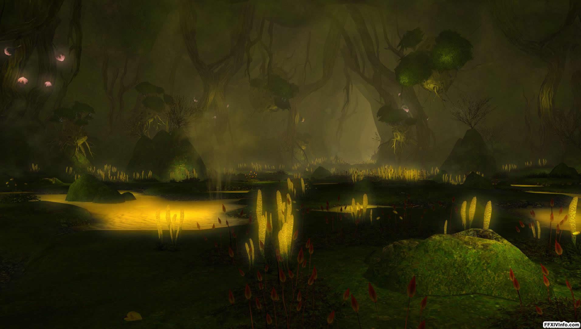 Aurum Vale Maps FFXIV A Realm Reborn Info FF14
