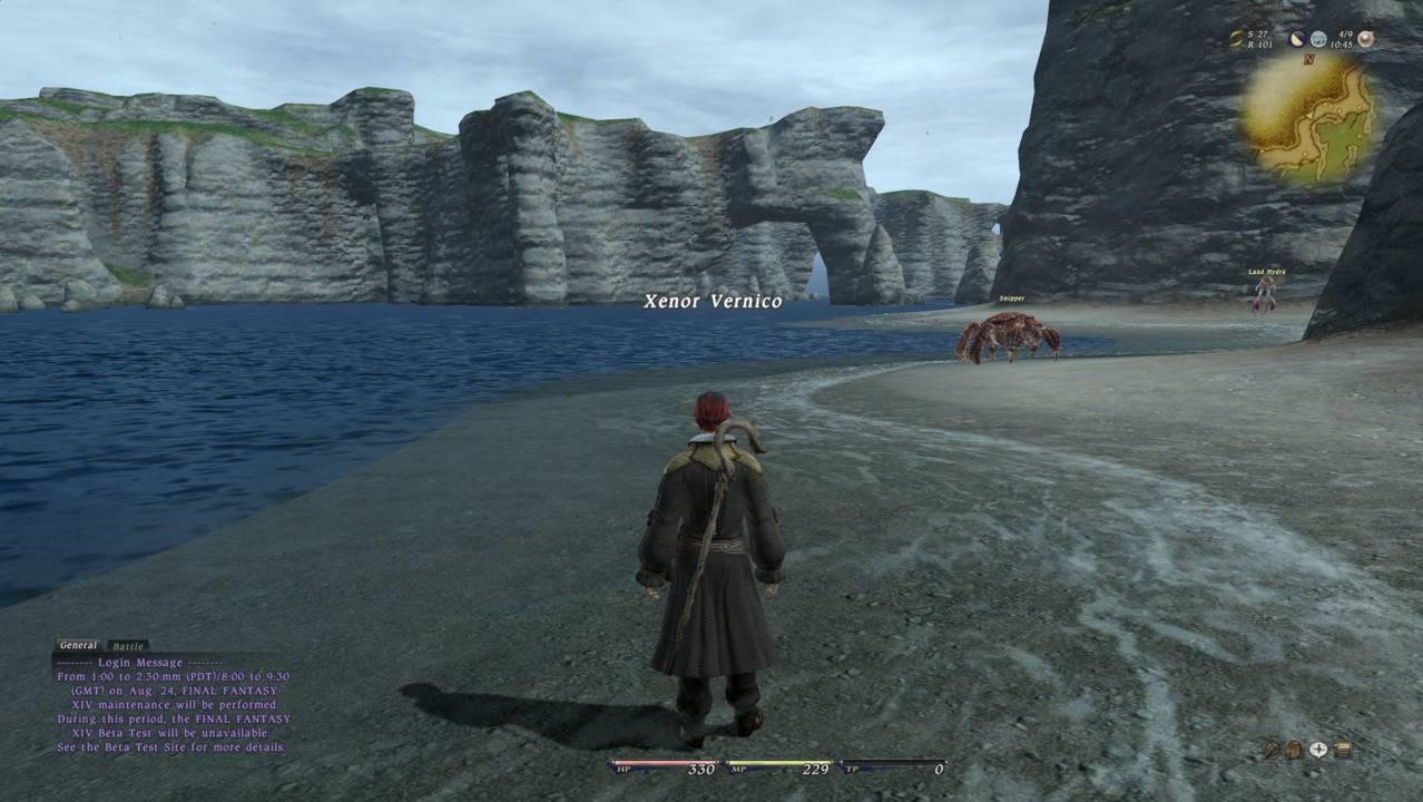 La Noscea Maps FFXIV A Realm Reborn Info FF14
