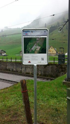 Gleitschirmlandeplatz Ebenalp