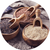 food service suppliers: ancient grains