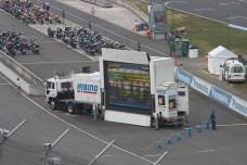 Le podium 250cc