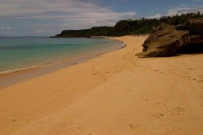 Une des plages de Ikkejima