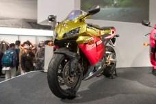 Honda CBR dorée