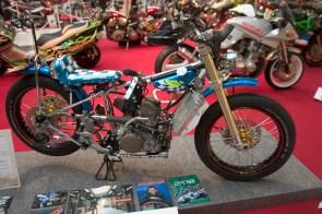Petit moto de racing
