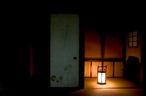 Pénombre d'une pièce japonaise