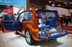 Renault Kangoo et ses rollers
