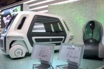 Concepts futuristes et utopiques PIXY et SSC
